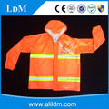 2017 best selling cheaper heavy duty raincoat for sanitation workers