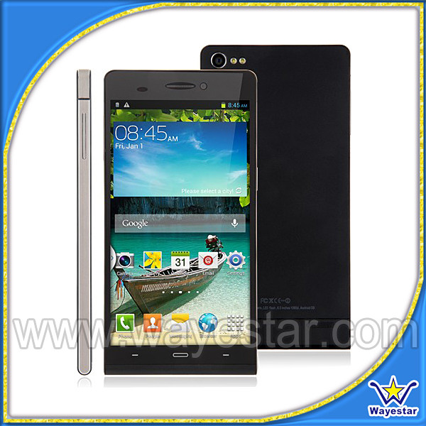 MTK6592 Octa Core Android Non 4G Network 8.0mega Camera Smart Mobile Phone