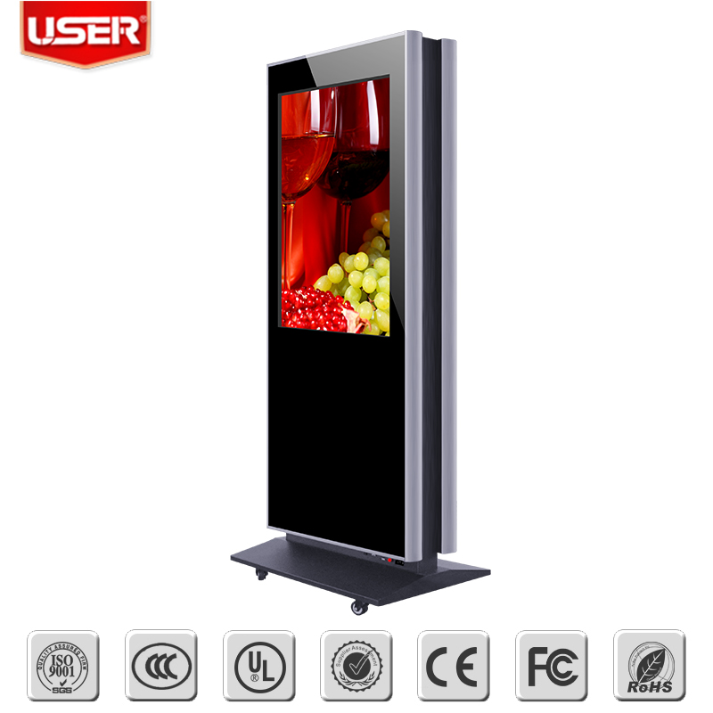 Good price of lcd ad digital display with certificate