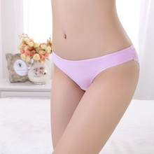 2015 Girl In Transparent Underwear Low Waist Sexy Woman Underwear Lace Lady Underwear Seamless Panty