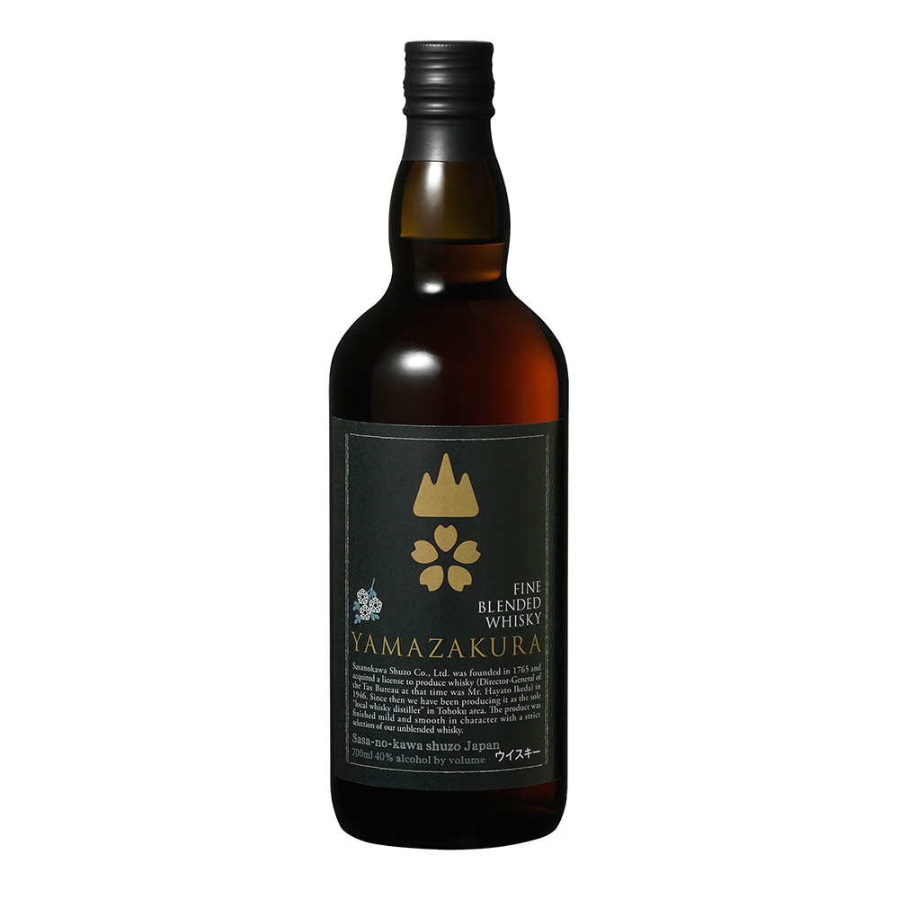 Japanese manufacturer Blended Whisky Yamazakura Black Label bottle whisky for sale