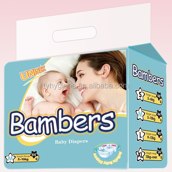 Hot sale oem brand name baby diapers/nappies at wholesale prices
