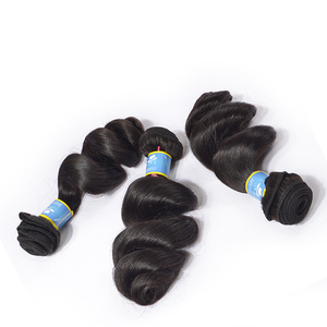 Virgin uzbekistan natural raw human hair, ladies hair cuts style sew in human hair extensions, ian loose wave hair