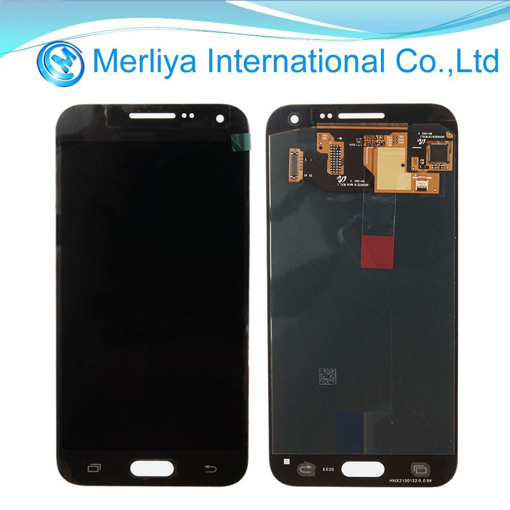 New Product LCD Display and Touch Screen Complete black color for Samsung E5