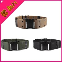 Commando Tactical Military Men Outside Tooling Armed Belt American