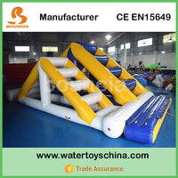 Inflatable Water Sport Games / Inflatable Double Ladder For Sale