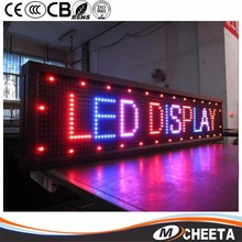 Ali Trade Best Price 12v~24v Text Scrolling Message Led Car Message Board / Car Led Billboard