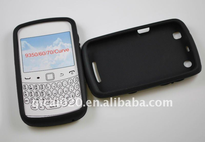 Silicon case for blackberry 9350/60/70/CURVE