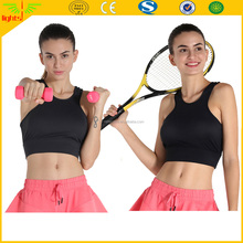black nice comfortable sexy fitness sports nude bra womens sports wears for yoga