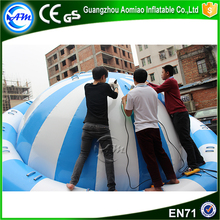 Inflatable Floating Air Spinner Toy Water Park Inflatable Water Disco Boat For Water Game