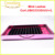 Different packaging metallic pink color eyelash extension tray 12/16/18/20 line per tray