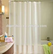Newest private body cover plastic drop cushion PEVA shower curtain