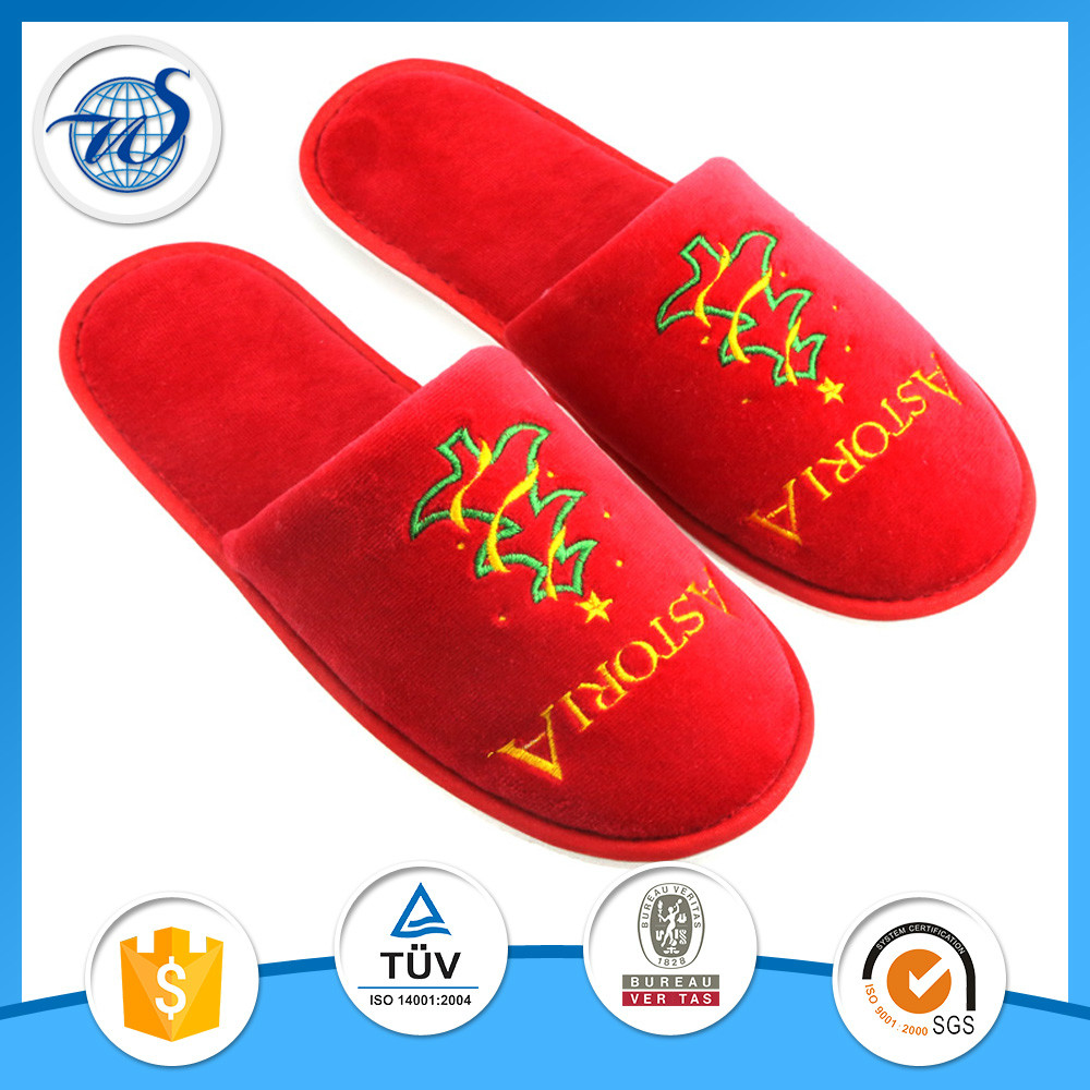 Soft high quality very comfortable washable disposable slippers