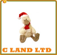 China Best Made Christmas Gift Musical duck plush pet toy