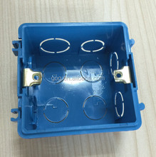 GOG China supplier wall mount light pvc electrical switch box