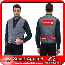Rechargeable battery heated waistcoat with battery electric heating clothing battery heated clothing warm OUBOHK