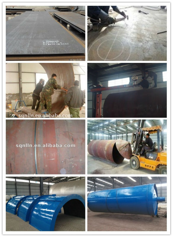 Latest generation High output Eco-friendly 100% safety devices Waste Tyre recycling machine with CE