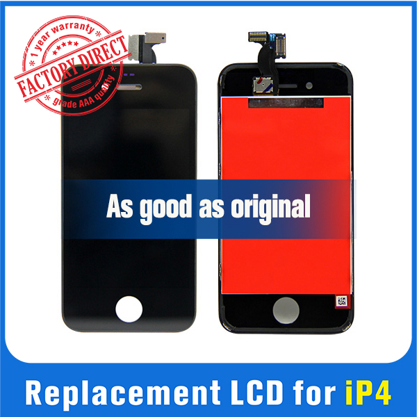 Tianma Grade A quality original pass lcd for iphone 4 price for iphone 4 lcd