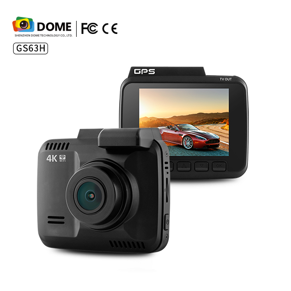 4K Car DVR with WiFi and GPS GS63H