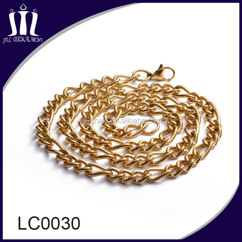 Latest design simple gold body chain