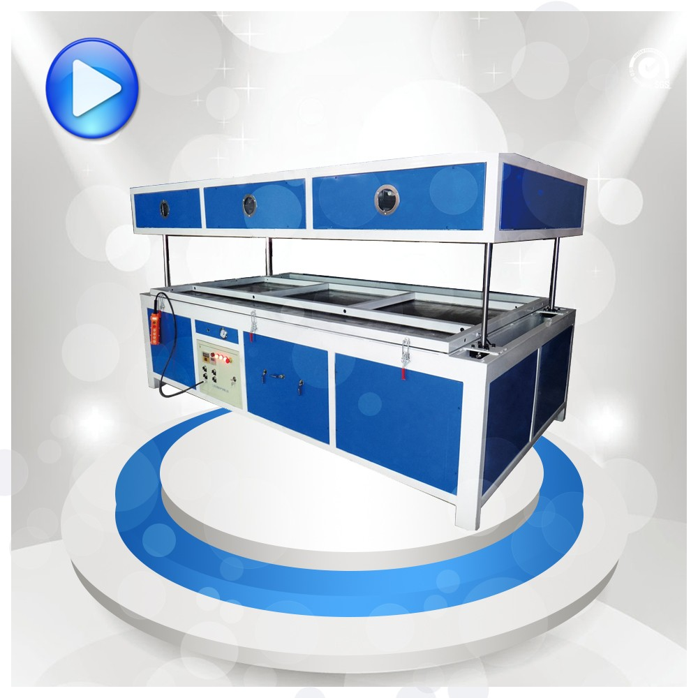 thermoforming acrylic thick sheet vacuum forming machines for Advertising sign LED light box letter making