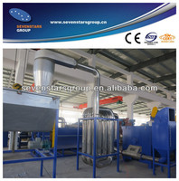 waste plastic flakes recycling line PP/PE film recycling line