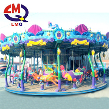 Children indoor rides games machines carousel horse riding machine for sale