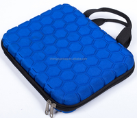 Tablet Neoprene Sleeve Case, Slim Briefcase Handle & Accessory Pocket / Ultra Portable Travel Carrying Case Sleeve
