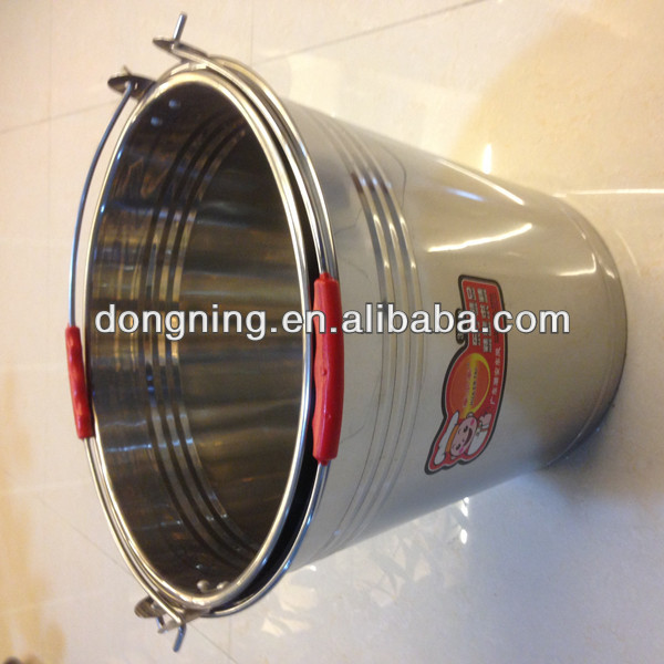 304 stainless steel water pail