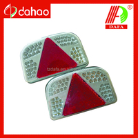 LED trailer tail light at rear position