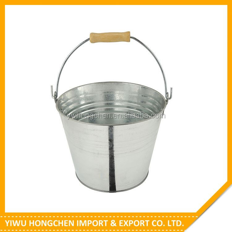 Newest selling trendy style metal coal bucket with different size