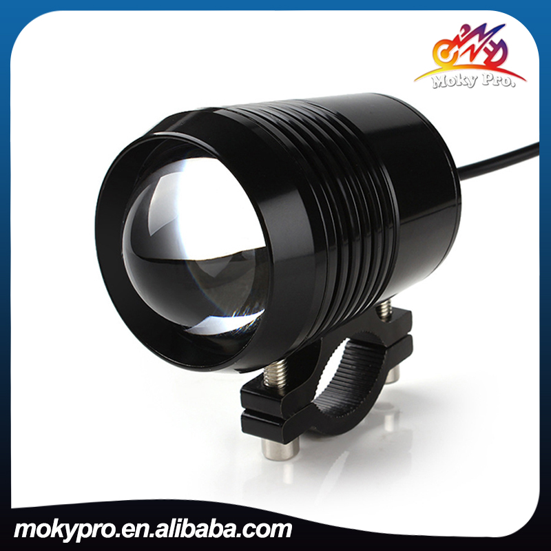 12-80V <strong>U2</strong> black led driving headlight fog light for motorcycle electrice cars tricycles