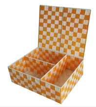 Woven Nylon Trapezoid Storage Bin for Home