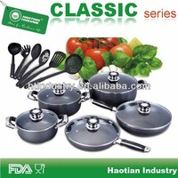 Promotional aluminum non-stick wholesale cookware