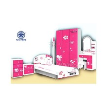 low-priced furniture in kids bedroom with hello kitty design 978C
