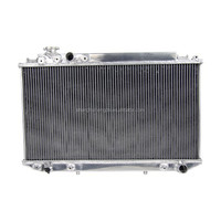 2014 All Aluminum Auto Radiator For TOYOTA Cressida MX83/JZX81 Chaser 1JZ-GTE 88-93 AT