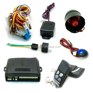 Manual vibration smart easy anti-hijacking silicon car alarm