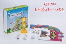 kids talking pen ,touch reading pen with english I like sound book