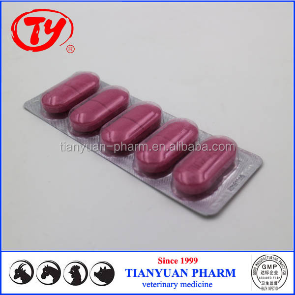 GMP factory supply pigeon tablets Tetracycline Bolus