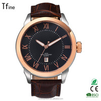 New Fashion Men Sports Watches Men's Quartz Hour Date Clock Man Leather Strap Military Army Waterproof Wrist watch