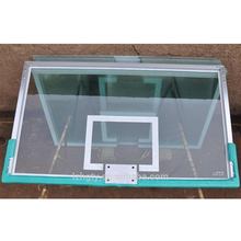 Wholesale cheap glass basketball board size for school