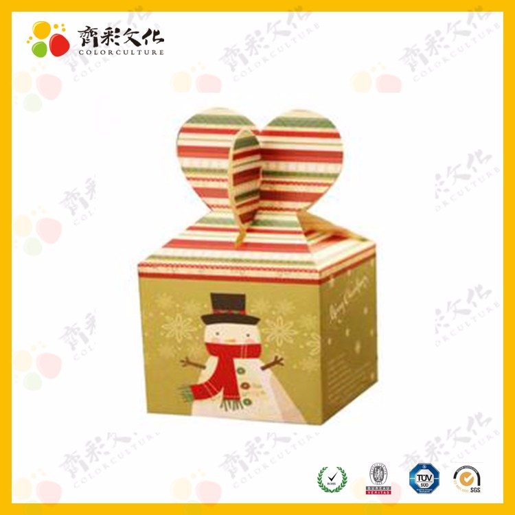 fancy design pretty christmas apple gift paper box