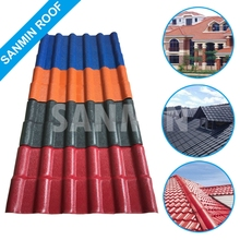 Synthetic Resin Material Plastic PVC Thatched Roof Tiles