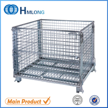 Heavy duty wire mesh security cage