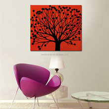 Factory Wholesale High Quality Modern Abstract Painting On Canvas Abstract Printing Tree Painting For Decoration