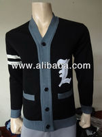 Varsity Cardigan Sweater