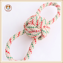 New Practical Dog Pet toy Puppy Chew Cotton 8 Rope Ball Braided Bone Knot Toys products Playing Pet dog products