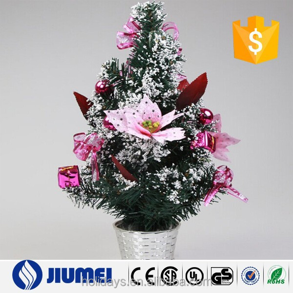 30cm PVC Xmas Decoration Mini Christmas Tree