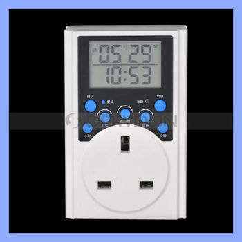New Design Programmable LCD Weekly Digital Countdown Timer Switch