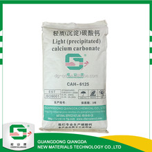 PCC , 98% purity caco3 and uncoated light precipitated calcium carbonate powder